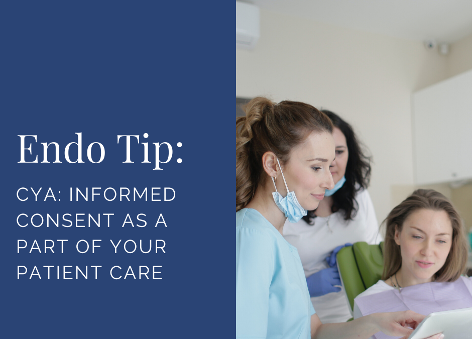 CYA: Informed Consent as a Part of Your Patient Care