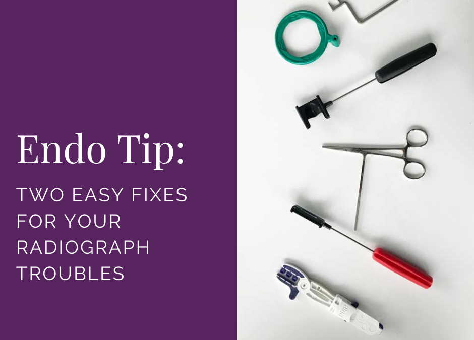 Two Easy Radiograph Solutions