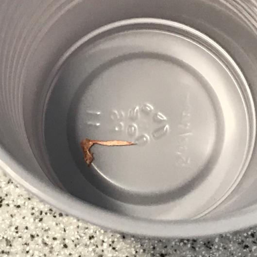 Pulp pre-hypochlorite in a cup