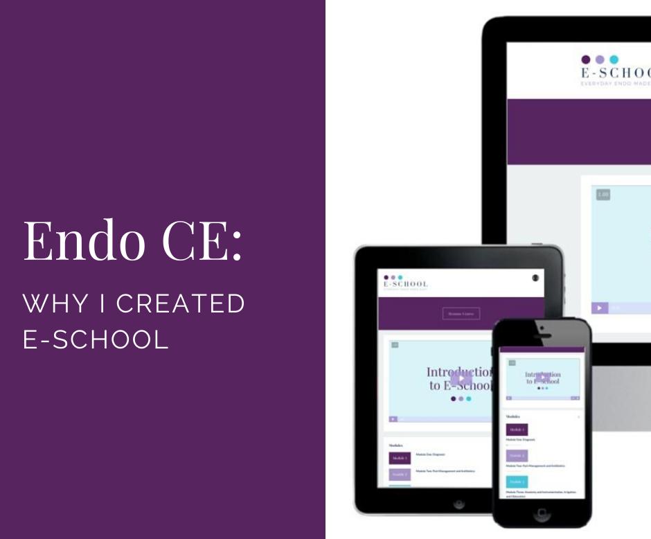 Endo CE Why I Created E-School