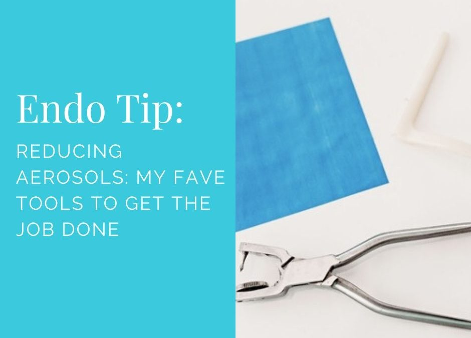Reducing Aerosols: My Fave Tools to Get the Job Done