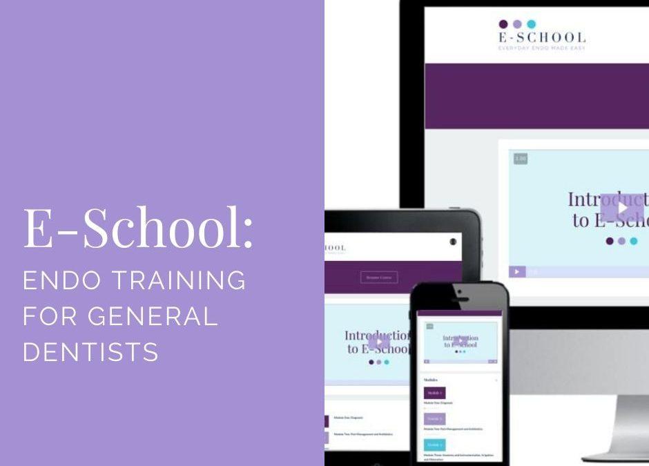 E-School: Endo Training for General Dentists